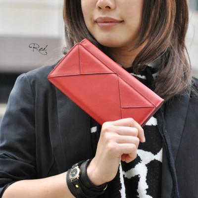 B-EGG エンベロープ型長財布