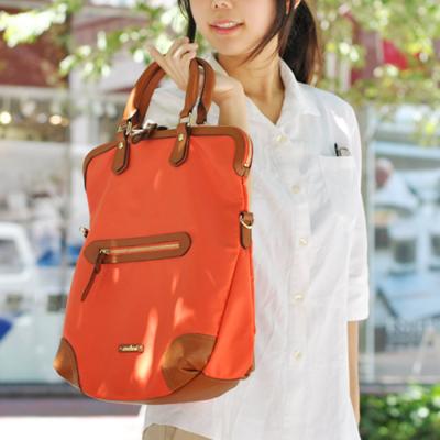 【ancheri(アンシェリ)】撥水加工高密度ナイロンビッグトートバッグ